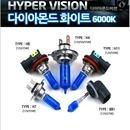 하이퍼 비젼 라이트 전구 6000K 전조등 3000K 안개등