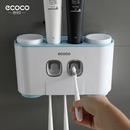 ECOCO 5구 칫솔걸이/자동치약 디스펜서/치약짜개 E1802