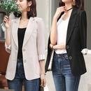 7부 여성자켓 캐주얼 신상 정장자켓 여자 봄 여름자켓