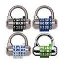 마스터락 비밀번호 자물쇠 방탈출카페자물쇠 1534D