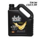 몬스터블러드 프리미엄 5W30 SN C3 디젤가솔린 4LT