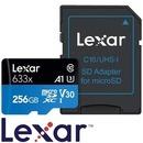렉사 하이퍼포먼스 633x 마이크로SD카드 256GB 제공 특
