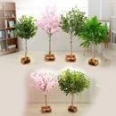 인테리어 인조나무 조화 제작나무  벚꽃 자작 1M~1.5M