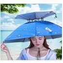 머리에 쓰는 시원한 우산 농부 양산 낚시 햇빛가리개