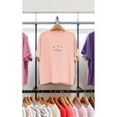여 크롭 프린트 반팔 티셔츠 399507