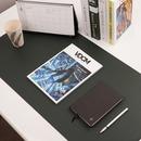 사무실 책상 깔판 가죽 대형 데스크패드 900 x 450mm