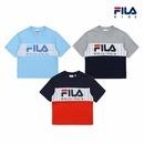 (현대Hmall) 휠라키즈  헤리티지 블럭형 반팔 티셔츠 (3종 택1)