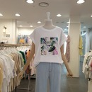 (백화점SAY)롤업 진주티셔츠  DK5WTS22
